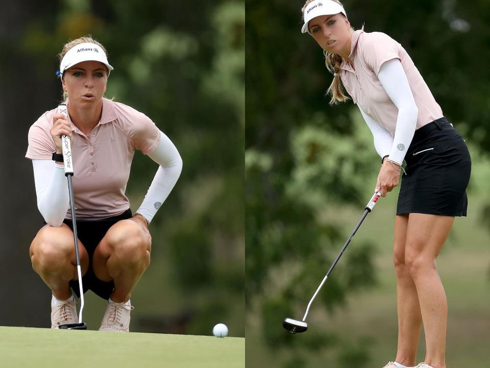 Sophia Popov goes from caddie to AIG Womens British Open